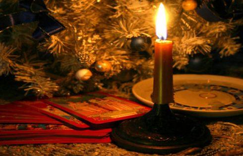 Гадание рождественские праздники.