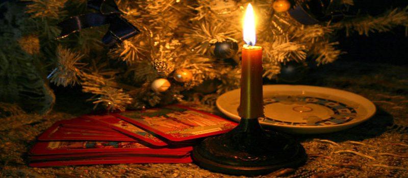 Гадание на рождественские праздники.