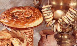 Гадание в святки с хлебом на суженого.