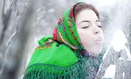 Зимние гадания снегом.