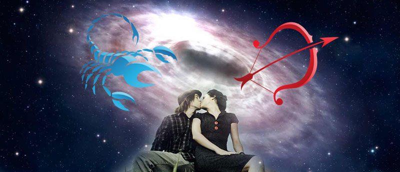 Скорпион и Стрелец — совместимость знаков зодиака.