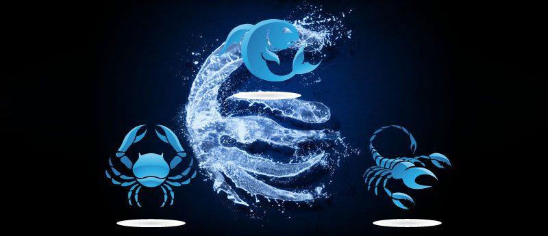 Стихия воды — знаки зодиака (Рак, Скорпион, Рыбы)