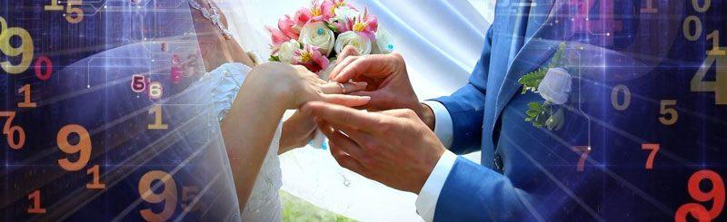 Нумерология брака — рассчитать дату свадьбы онлайн.