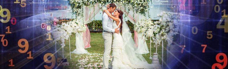 Дата свадьбы — нумерология онлайн.