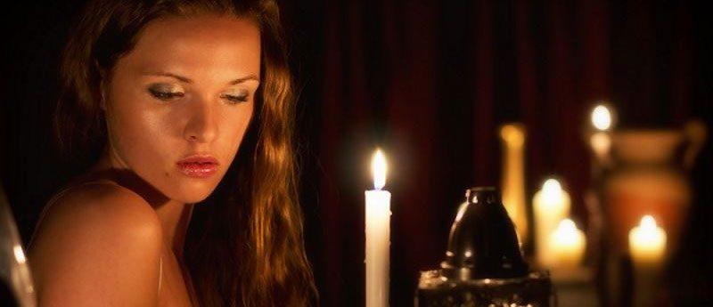 Гадание на вопрос на свечах.