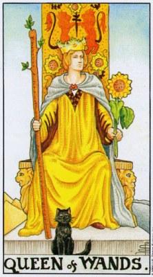Королева Жезлов (Посохов)